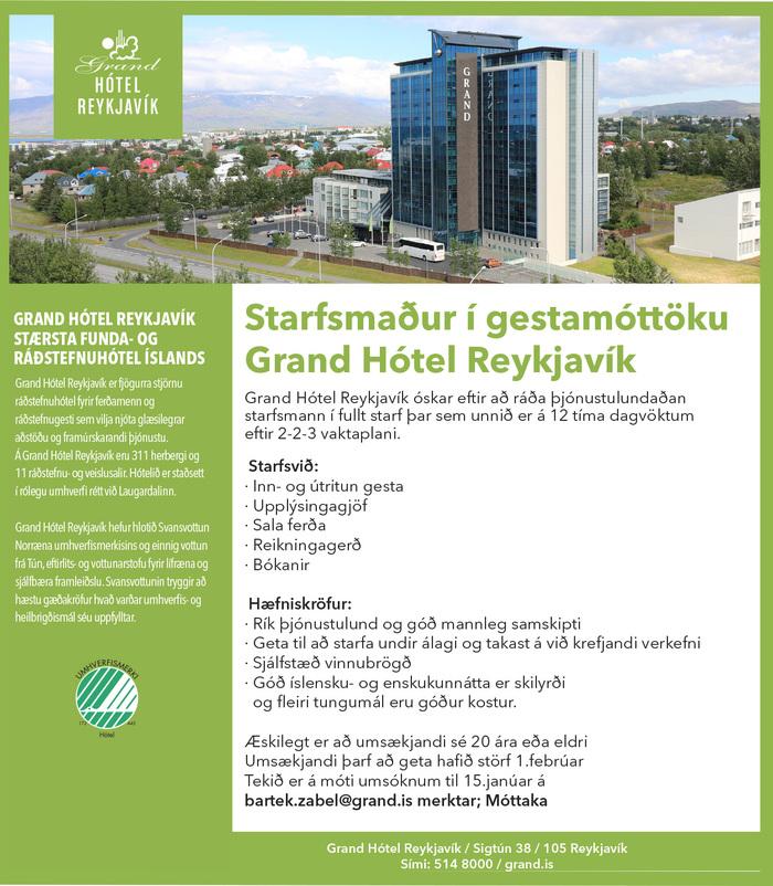 Grand Hótel Reykjavík