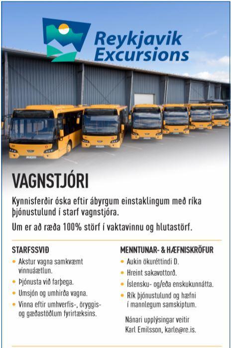 Vagnstjóri / City Bus Driver
