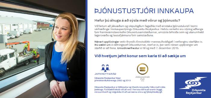 Þjónustustjóri Innkaupa