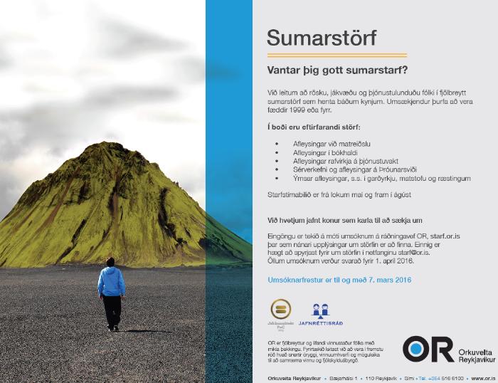 Sumarstörf OR